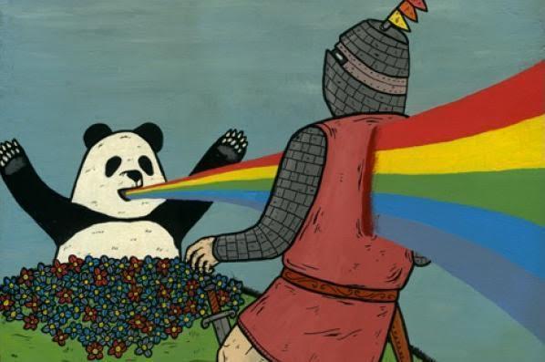 rainbow vomit 2